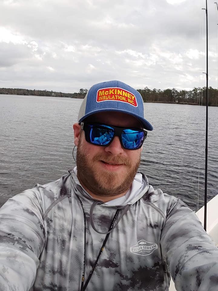 McKinney Insulation selfie on the water